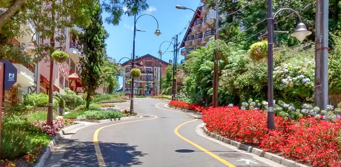 Rua Torta - Gramado-RS